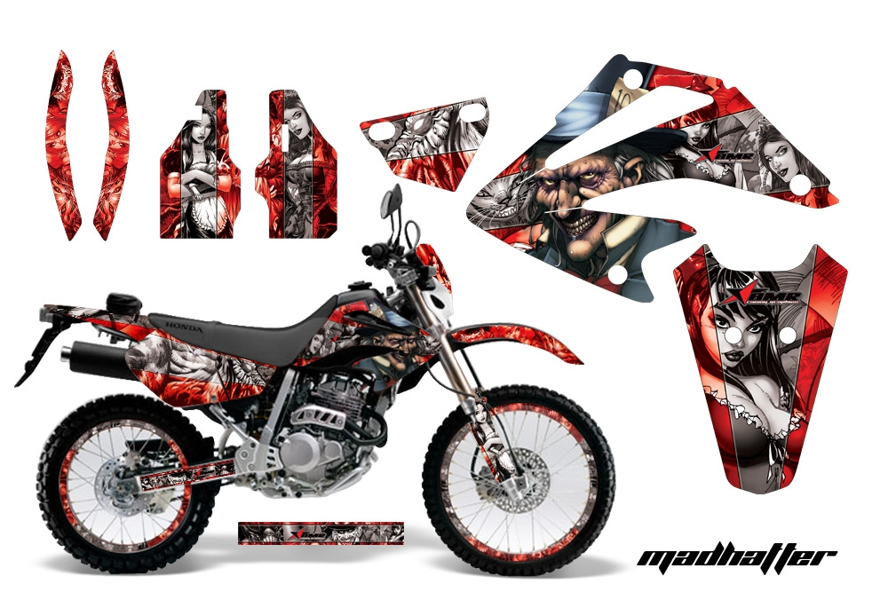 Honda xr250 sm super moto 2003 2005 graphics creatorx graphics mx atv decals sled utv wraps