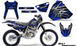 Honda XR 400 CreatorX Graphics Kit Bolt Thrower Blue NP Rims 150x90 - Honda XR400 1996-2004 Graphics