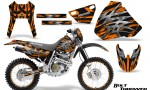 Honda XR 400 CreatorX Graphics Kit Bolt Thrower Orange NP Rims 150x90 - Honda XR400 1996-2004 Graphics