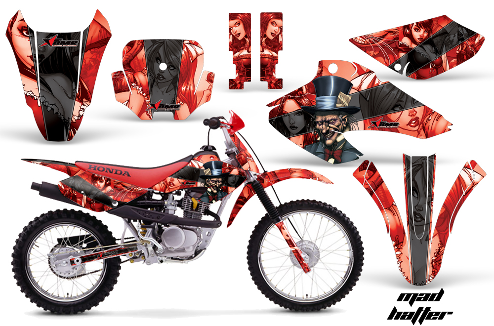 Honda XR XR Graphics CREATORX Graphics MX ATV - Decal graphics for dirt bikes