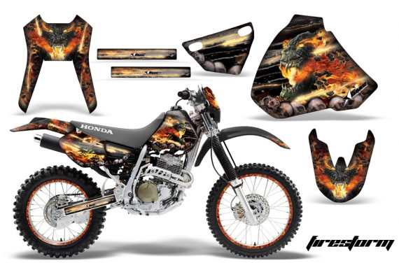 Honda XR400 AMR Graphics Kit FS B NPs 570x376 - Honda XR400 1996-2004 Graphics