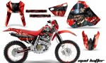 Honda XR400 AMR Graphics Kit MH RB NPs 150x90 - Honda XR400 1996-2004 Graphics