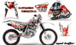 Honda XR400 AMR Graphics Kit MH WR NPs 150x90 - Honda XR400 1996-2004 Graphics