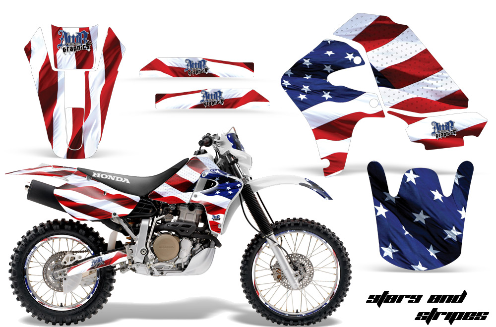 Honda-XR650-AMR-Graphics-Kit-S-S-NPs | CREATORX Graphics MX & ATV Decals, Sled & UTV Wraps