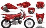 Honda XR70 AMR Graphics Kit BC R 150x90 - Honda XR50 2000-2003 XR70 2001-2003 Graphics