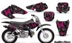 Honda XR70 AMR Graphics Kit BF PB 150x90 - Honda XR50 2000-2003 XR70 2001-2003 Graphics