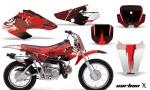 Honda XR70 AMR Graphics Kit CX R 150x90 - Honda XR50 2000-2003 XR70 2001-2003 Graphics