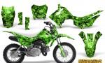 Honda CRF110F CreatorX Graphics Kit Inferno Green 150x90 - Honda CRF 110F 2013-2018 Graphics