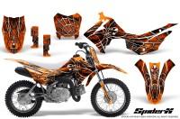Honda_CRF110F_CreatorX_Graphics_Kit_SpiderX_Orange
