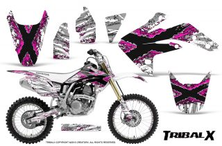 Honda CRF150R 07 15 Graphics Kit TribalX Pink White NP Rims 320x211 - Honda CRF150R 2007-2016 Graphics