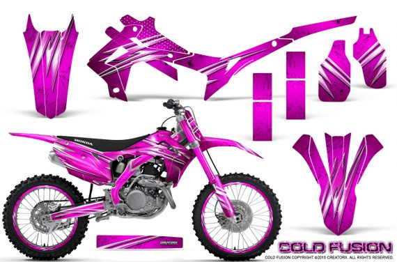Honda CRF450R 2013 2014 Graphics Kit Cold Fusion Pink NP Rims 570x376 - Honda CRF450R 2013-2016 Graphics