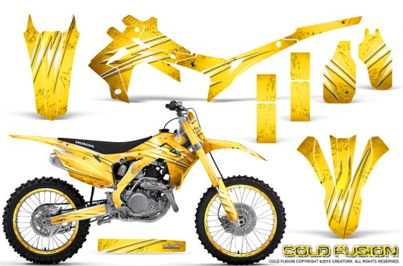Honda CRF450R 2013 2014 Graphics Kit Cold Fusion Yellow NP Rims 570x376 - Honda CRF450R 2013-2016 Graphics