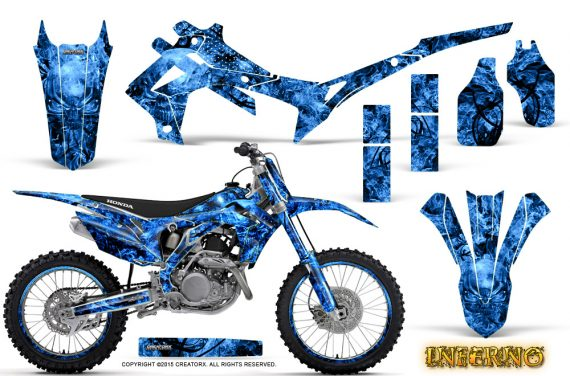 Honda CRF450R 2013 2014 Graphics Kit Inferno Blue NP Rims 570x376 - Honda CRF450R 2013-2015 Graphics