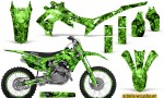 Honda CRF450R 2013 2014 Graphics Kit Inferno Green NP Rims 150x90 - Honda CRF450R 2013-2015 Graphics