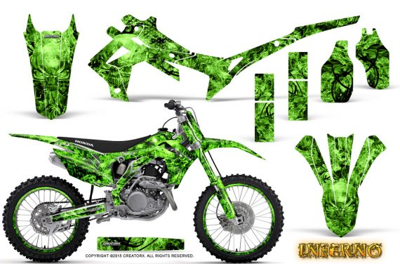 Honda CRF450R 2013 2014 Graphics Kit Inferno Green NP Rims 570x376 - Honda CRF450R 2013-2016 Graphics
