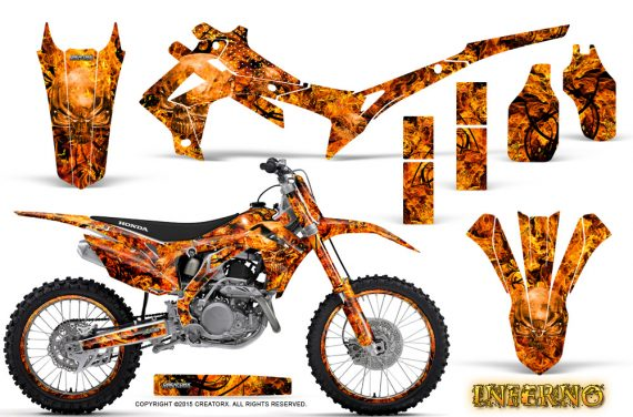 Honda CRF450R 2013 2014 Graphics Kit Inferno Orange NP Rims 570x376 - Honda CRF450R 2013-2015 Graphics