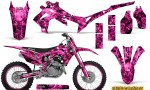 Honda CRF450R 2013 2014 Graphics Kit Inferno Pink NP Rims 150x90 - Honda CRF450R 2013-2015 Graphics