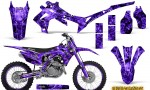 Honda CRF450R 2013 2014 Graphics Kit Inferno Purple NP Rims 150x90 - Honda CRF450R 2013-2015 Graphics