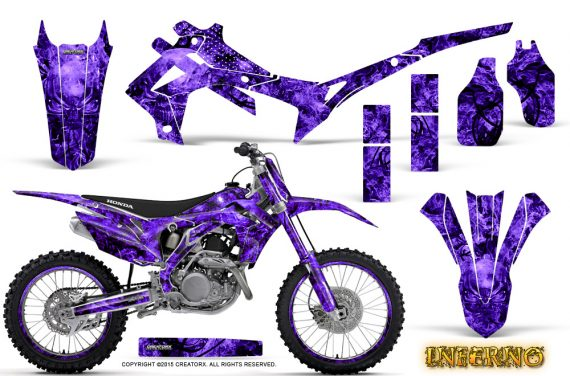 Honda CRF450R 2013 2014 Graphics Kit Inferno Purple NP Rims 570x376 - Honda CRF450R 2013-2015 Graphics