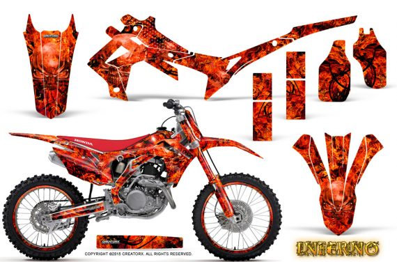 Honda CRF450R 2013 2014 Graphics Kit Inferno Red NP Rims 570x376 - Honda CRF450R 2013-2016 Graphics