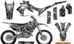 Honda CRF450R 2013 2014 Graphics Kit Inferno Silver NP Rims 150x90 - Honda CRF450R 2013-2015 Graphics