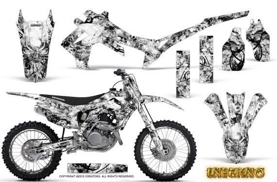 Honda CRF450R 2013 2014 Graphics Kit Inferno White NP Rims 570x376 - Honda CRF450R 2013-2016 Graphics
