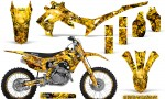 Honda CRF450R 2013 2014 Graphics Kit Inferno Yellow NP Rims 150x90 - Honda CRF450R 2013-2015 Graphics
