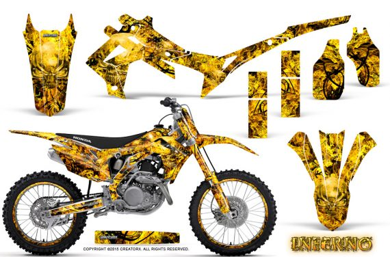 Honda CRF450R 2013 2014 Graphics Kit Inferno Yellow NP Rims 570x376 - Honda CRF450R 2013-2016 Graphics
