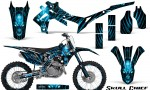 Honda CRF450R 2013 2014 Graphics Kit Skull Chief BlueIce NP Rims 150x90 - Honda CRF450R 2013-2015 Graphics