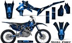 Honda CRF450R 2013 2014 Graphics Kit Skull Chief Blue NP Rims 150x90 - Honda CRF450R 2013-2016 Graphics