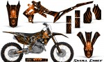 Honda CRF450R 2013 2014 Graphics Kit Skull Chief Orange NP Rims 150x90 - Honda CRF450R 2013-2016 Graphics