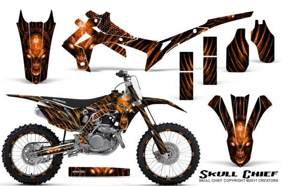 Honda CRF450R 2013 2014 Graphics Kit Skull Chief Orange NP Rims 570x376 - Honda CRF450R 2013-2016 Graphics