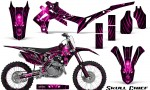 Honda CRF450R 2013 2014 Graphics Kit Skull Chief Pink NP Rims 150x90 - Honda CRF450R 2013-2015 Graphics
