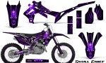 Honda CRF450R 2013 2014 Graphics Kit Skull Chief Purple NP Rims 150x90 - Honda CRF450R 2013-2016 Graphics