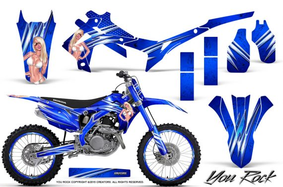 Honda CRF450R 2013 2014 Graphics Kit You Rock Blue NP Rims 570x376 - Honda CRF450R 2013-2015 Graphics