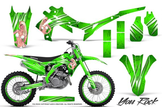 Honda CRF450R 2013 2014 Graphics Kit You Rock Green NP Rims 570x376 - Honda CRF450R 2013-2015 Graphics