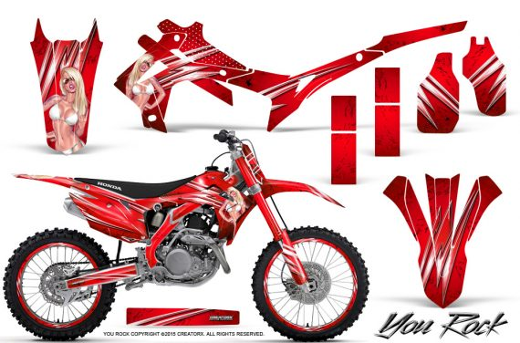 Honda CRF450R 2013 2014 Graphics Kit You Rock Red NP Rims 570x376 - Honda CRF450R 2013-2015 Graphics
