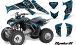 Honda TRX250 06 09 CreatorX Graphics Kit SpiderX BlueIce 150x90 - Honda TRX 250EX 2006-2018 Graphics
