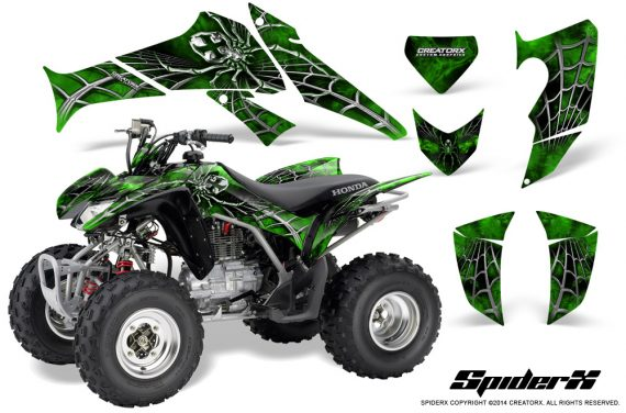 Honda_TRX250_06-09_CreatorX_Graphics_Kit_SpiderX_Green