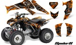 Honda TRX250 06 09 CreatorX Graphics Kit SpiderX Orange 150x90 - Honda TRX 250EX 2006-2018 Graphics