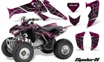 Honda TRX250 06 09 CreatorX Graphics Kit SpiderX Pink 150x90 - Honda TRX 250EX 2006-2018 Graphics