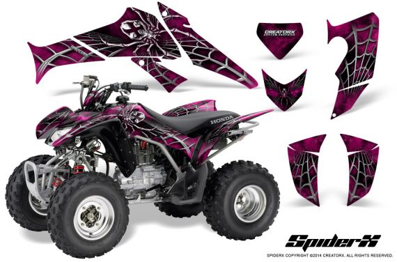 Honda_TRX250_06-09_CreatorX_Graphics_Kit_SpiderX_Pink