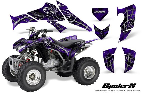 Honda_TRX250_06-09_CreatorX_Graphics_Kit_SpiderX_Purple