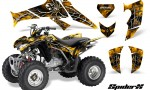 Honda TRX250 06 09 CreatorX Graphics Kit SpiderX Yellow 150x90 - Honda TRX 250EX 2006-2018 Graphics