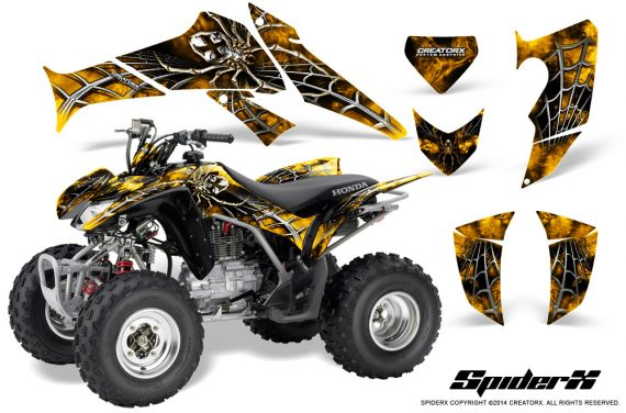Honda_TRX250_06-09_CreatorX_Graphics_Kit_SpiderX_Yellow
