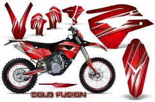 Husaberg-FE570-Enduro-2010-CreatorX-Graphics-Kit-Cold-Fusion-Red-NP-Rims