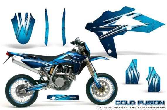 Husqvarna SMR 05 07 CreatorX Graphics Kit Cold Fusion BlueIce NP Rims 570x376 - Husqvarna SM-SMR122-530 05-10 TC-TE250 05-13 TC-TE450 05-10 Graphics