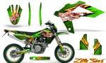 Husqvarna SMR 05 07 CreatorX Graphics Kit Little Sins Green NP Rims 150x90 - Husqvarna SM-SMR122-530 05-10 TC-TE250 05-13 TC-TE450 05-10 Graphics