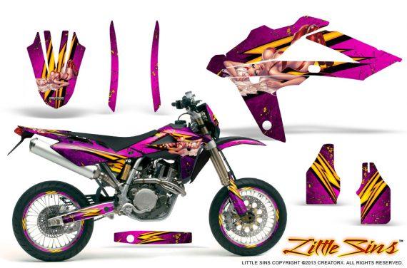 Husqvarna SMR 05 07 CreatorX Graphics Kit Little Sins Pink NP Rims 570x376 - Husqvarna SM-SMR122-530 05-10 TC-TE250 05-13 TC-TE450 05-10 Graphics