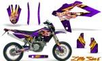 Husqvarna SMR 05 07 CreatorX Graphics Kit Little Sins Purple NP Rims 150x90 - Husqvarna SM-SMR122-530 05-10 TC-TE250 05-13 TC-TE450 05-10 Graphics